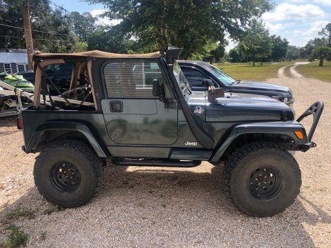 1999 Jeep Wrangler / Tj SAHARA na prodej