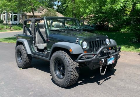 2010 Jeep Wrangler na prodej
