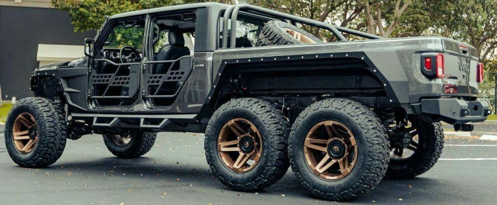 2021 Jeep Gladiator 6 Wheels