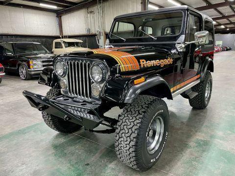 1980 Jeep CJ 4×4 na prodej