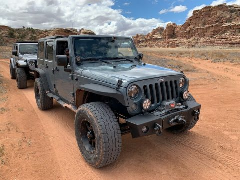 2015 Jeep Wrangler Unlimited Custom na prodej