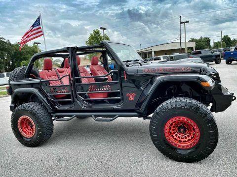 2018 Jeep Wrangler Rubicon Black Widow 6 Speed Leather NAV na prodej