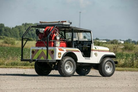 1953 Jeep Willys Brush Fire Truck na prodej