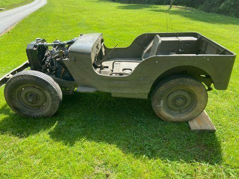 1942 Ford GPW Jeep na prodej