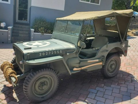 1943 Ford GPW, Not Willys MB na prodej