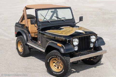 1980 Jeep CJ 5   Golden Eagle Theme na prodej