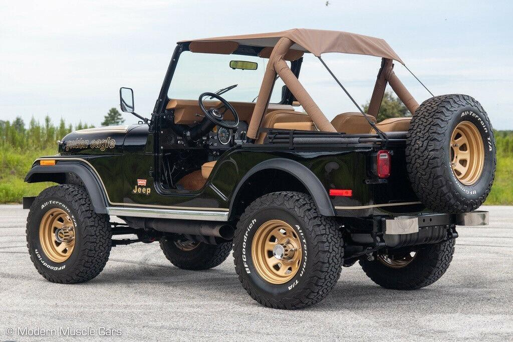 1980 Jeep CJ 5   Golden Eagle Theme