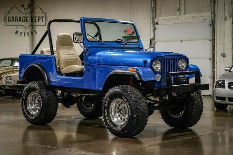 1981 Jeep CJ na prodej