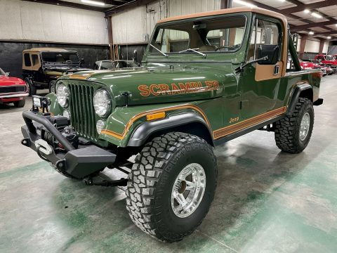 1981 Jeep CJ8 Scrambler. na prodej