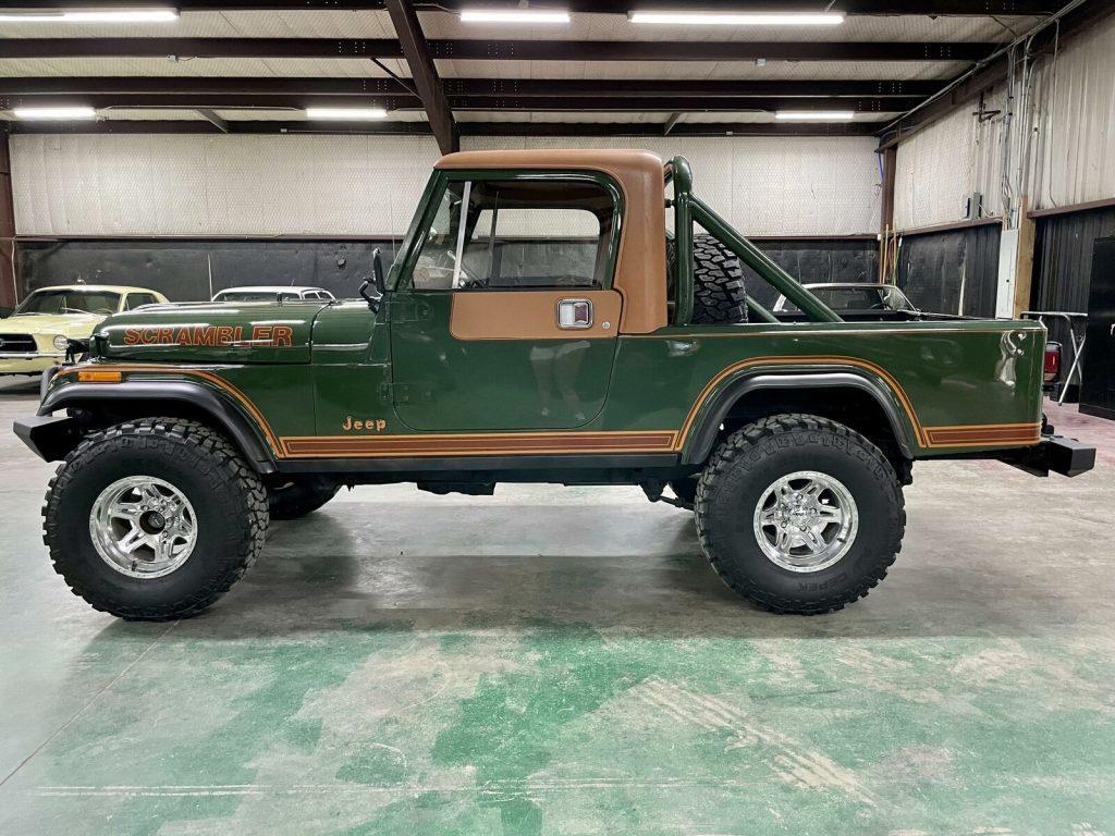 1981 Jeep CJ8 Scrambler.