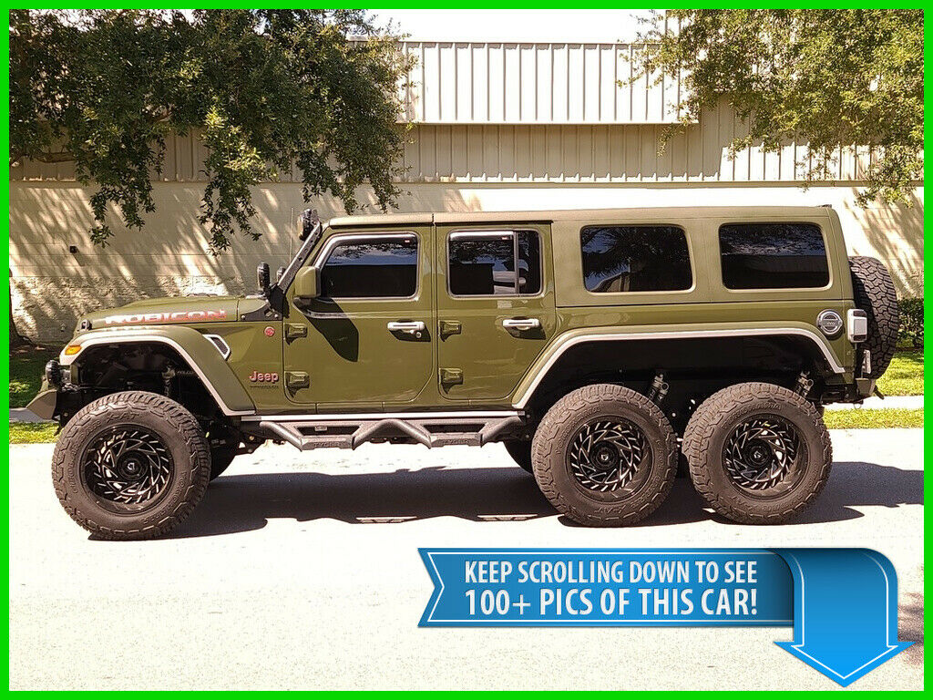 2021 Jeep Wrangler Unlimited Rubicon Diesel   6X6 Beast 3RD ROW SEAT